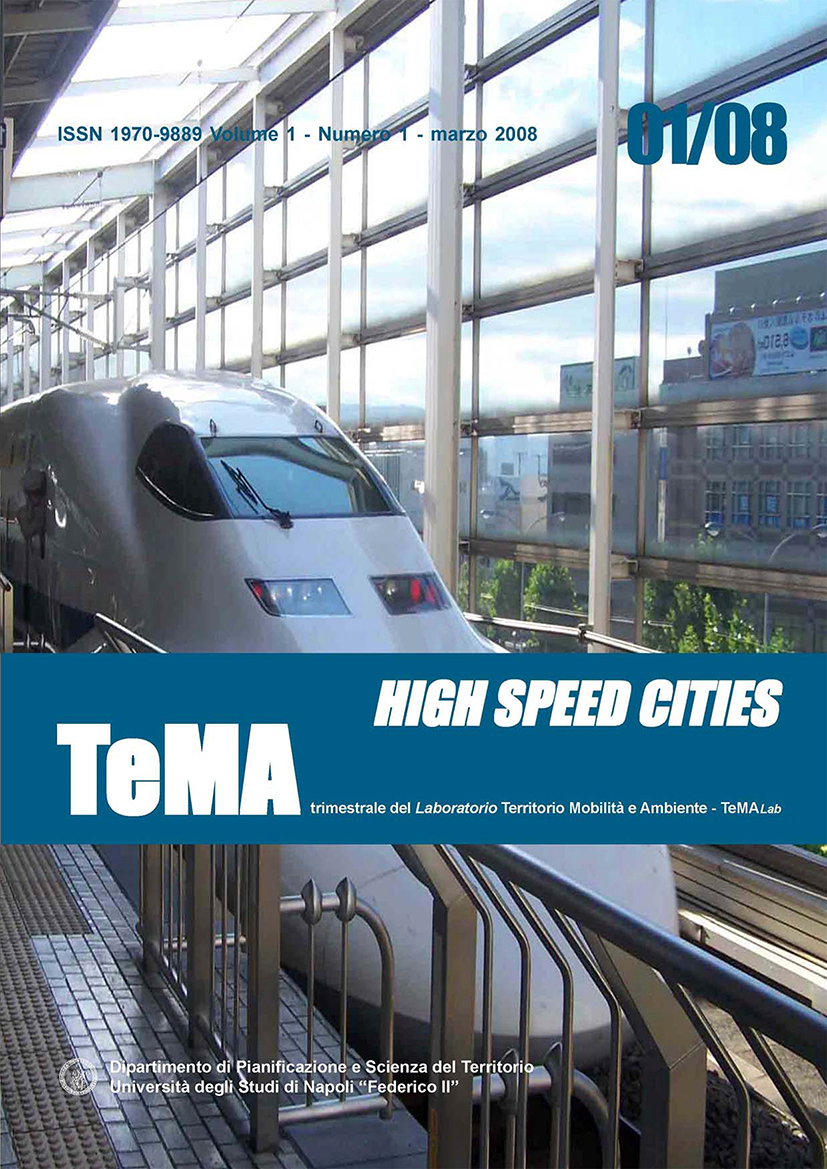 2_Vol 1, N° 1 (2008): High Speed Cities